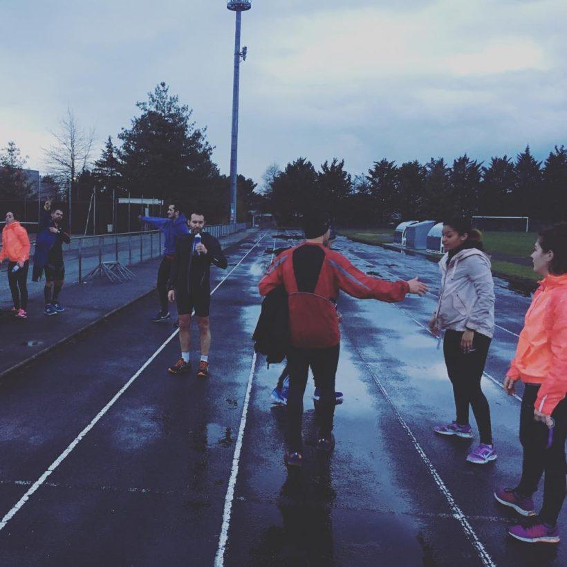 Runners à Anjou CrossFit près d'Angers