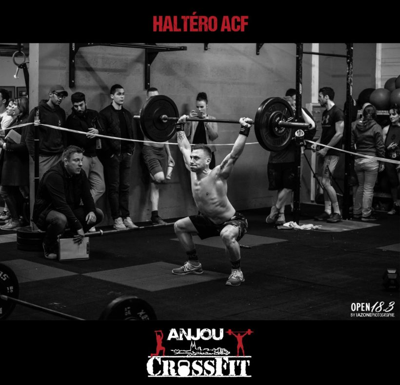 Haltérophilie à Anjou CrossFit à Angers