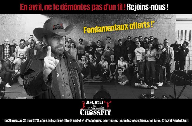 Fondamentaux offerts à Anjou CrossFit près d'Angers