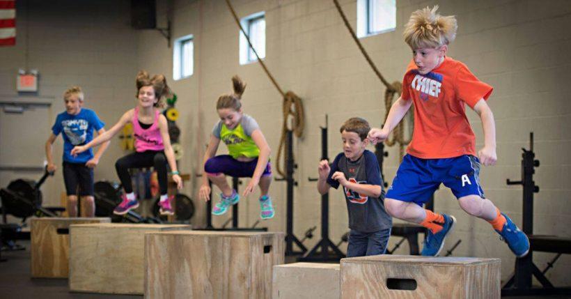 Angers Anjou CrossFit Kids