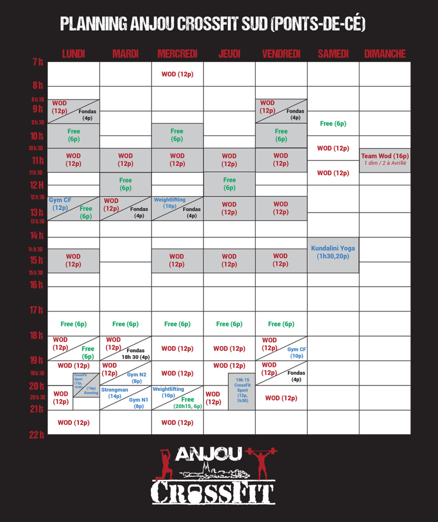 Crossfit-angers-anjou crossfit-49-cours-wod-planning ACF Sud (Ponts-de-ce) ok
